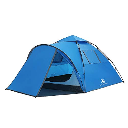 WFF Outdoor-Campingzelt, 3-4 Personen automatische doppelschichtige Regendichte...