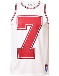 Hommes Ecko Basketball Gilet LORITZ Sport T-shirt Sans Manches Top Imprimé Graphique T-shirt