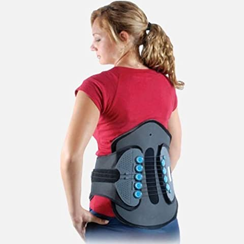 Comprehensive LSO Spine Stabilization Brace for Mid & Lower Back-L by Cybertech Medical
