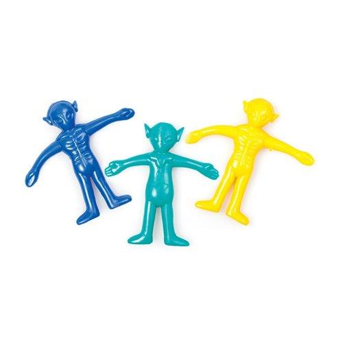 Stretchy Sticky Alien-Figur Spielzeug Stretch, um eine erstaunliche Länge