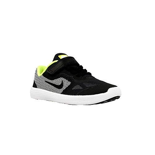 Nike - Revolution 3 Tdv - 819415004 - Couleur: Blanc-Noir - Pointure: 23.5