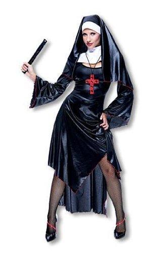 Sexy Nonnen Kostüm M (Nonne Jungs Kostüme Für)