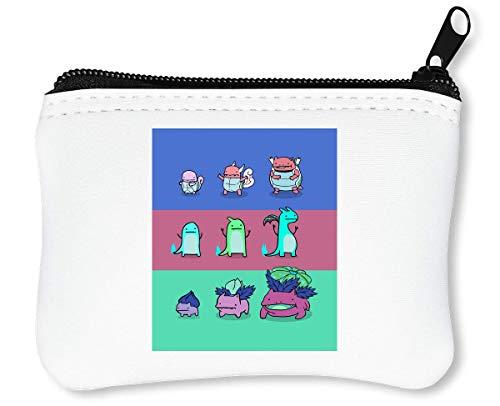 Pocket Monsters | Anime Series | Popular Manga | Pokemon Ball | Pokemon Go | Cool T Shirt | Nice to | Super Reißverschluss-Geldbörse Brieftasche Geldbörse