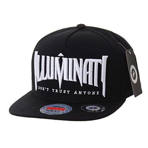 WITHMOONS Casquette de Baseball Snapback Hat Illuminati Embroidery Hip Hop Baseball Cap AL2389