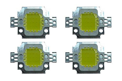 4 x 10W LED Chip mit hoher Leistung für Strahler/Lampe/Leuchte; kaltweiß - Led-chip