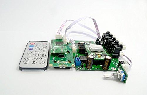 Q-BAIHE CS495313 AC3 DTS Decoder Board 5.1 Kanal mit optischem und koaxialem Ac3 Converter