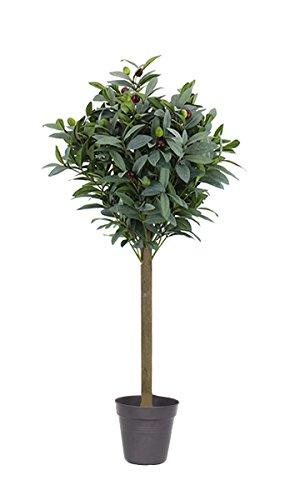artfleur – künstlicher Olivenbaum 85cm Kunstpflanze Dekobaum