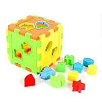 Kalaokei Kids Baby Intellectual Brain Training Animal Alphabet Abacus Cube Blocks Toys