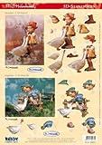 Reddycards 3D Stanzbogen M.I. Hummel Nr.072