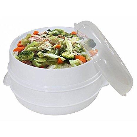 JPWOnline - Cocina al Vapor para microondas BN-5467: Amazon.es: Hogar