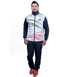 HPS Sports Men's Regular Designer Fit White Sublimated Tracksuit