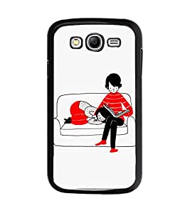 TOUCHNER (TN) Funny Monster Back Case Cover for Samsung Galaxy Grand Neo