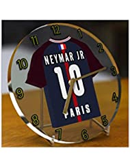 NEYMAR JR 10 - HORLOGE DE TABLE PSG - EDITION LIMITEE LES LEGENDES DU FOOTBALL