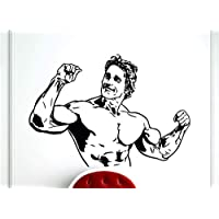 pegatinas de pared star wars Arnold Schwarzenegger Deporte Fitness Culturismo Gym Sticker Decor Home Room Stencil