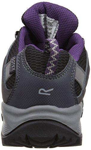 Regatta Lady Garsdale, Chaussures de Randonnée Basses Femme Gris (Shark/Blackberry)