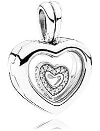 Pandora 792111CZ Corazón medailon