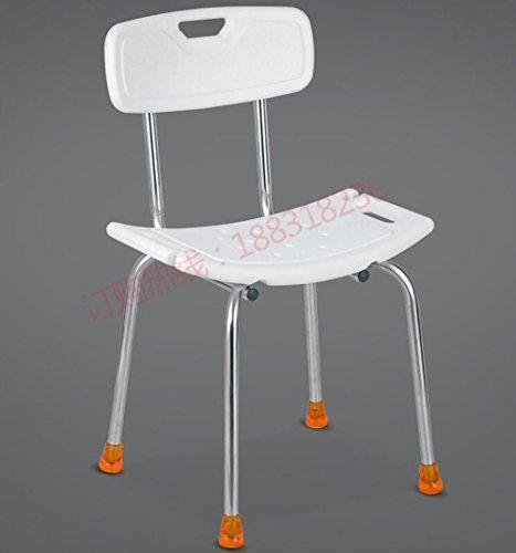 Bogen Zurück Stuhl (Badewanne für ältere Menschen Edelstahl Bad Stuhl zurück Bogen Bad Stuhl Bad Hocker Duschstuhl)