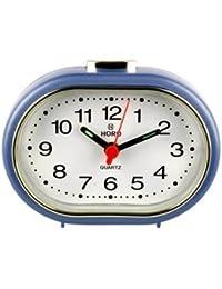 Horo Snooze With Radium Blue Alarm Clock 9x3x6.5cm