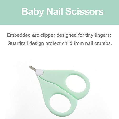 MeineBeauty Baby Nagelpflege Set 4-teiliges Nagelknipser Nagelschere Nagelfeile Pinzette Maniküre-Set für Neugeborene Kleinkinder Geschenk - 3