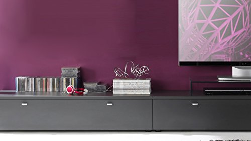 TV Board Tetis Wohnzimmer Lowboard Kombinatuon graphit - 2