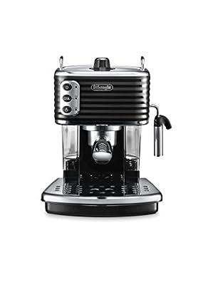 De'Longhi ECZ351.BK Scultura Traditional Pump Espresso Coffee Machine, 1100 W