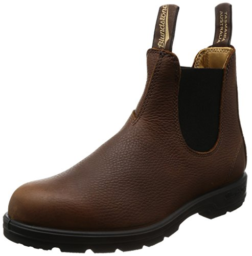 Blundstone Damen Classic Leather 1445 Chelsea Boots, Braun Brown Pebble, 39 EU
