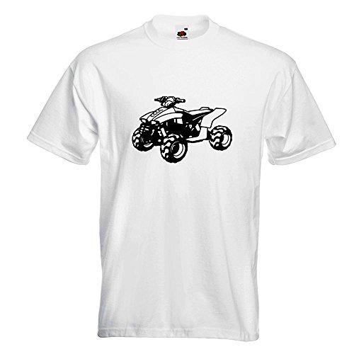 KIWISTAR - Quad Motorbike T-Shirt in 15 verschiedenen Farben - Herren  Funshirt bedruckt Design
