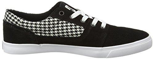 DC Shoes - Tonik W Se J Shoe, Sneaker Donna Nero (Black/Green/White)