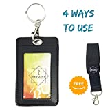 Card Holder with Keyring | Keychain for Your Oyster Travel Card Bus Pass