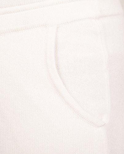 Pantaloni Sportivi | della Tuta | Pigiama Donna 100% Cachemire (XS-L) Bianco