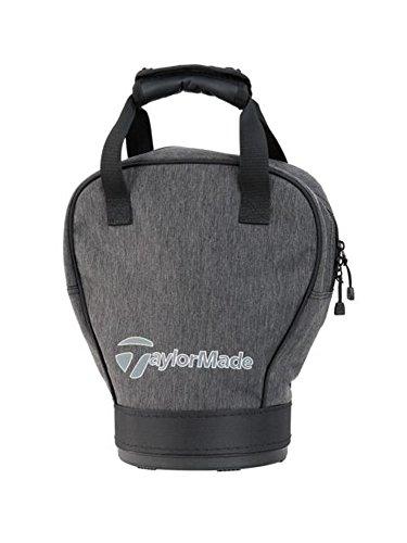 TaylorMade Golf 2018 Mens Classic Practice Ball Bag / Shag Bag Holder Grey/Black