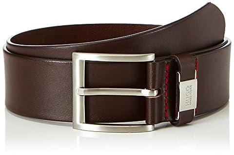 HUGO Men Men's C-Connio Belt, Brown (Dark Brown), 100 cm (Manufacturer Size: 100)