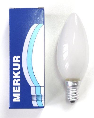 ampoule à incandescence 25W flamme dépolie E14