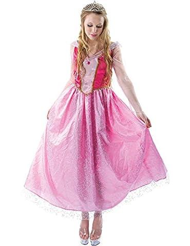 Erwachsenen Dornröschen Märchen Prinzessin Aurora Kostüm Verkleidung Small