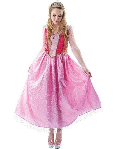 Erwachsenen Dornröschen Märchen Prinzessin Aurora Kostüm Verkleidung Extra (Für Dornröschen Kostüme Erwachsene)