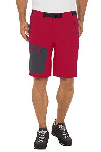 Vaude, Pantaloni corti Uomo Rosso (Indian Red)