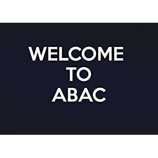 Schilder 2alle Welcome to abac-metal Wand sign-size ca. 400mm x 300mm, Aluminium, Multi, 40x 30x 1cm