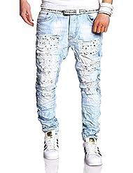 MT Styles Vintage Jeans Slim Fit pantalon RJ-2235