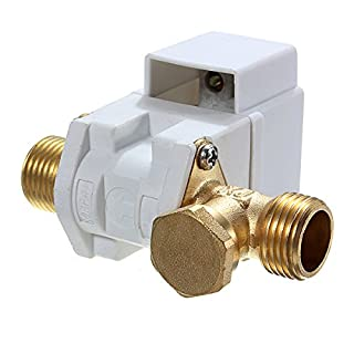 KUNSE Ac 220V 1/2Inch Electric N/C Solenoid Valve For Water Air