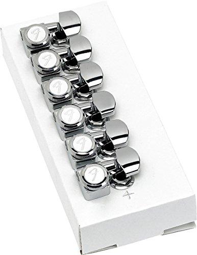 Fender Mécanique American Deluxe Strat Locking par 6 polished chrome