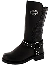 HARLEY DAVIDSON Chaussures Femmes - Bottes AIMEE - black