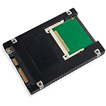"Syba - Adaptador de Compact Flash a doble interfaz SATA II y USB 2.0 (2,5"", 6,3cm)"
