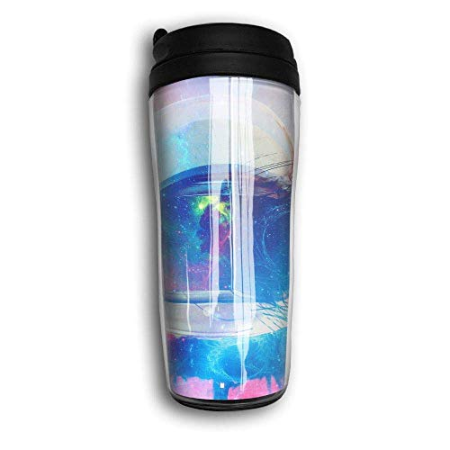 QIUJUAN onaut Colorful Space Travel Mug Coffee Portable Coffee Travel Mug For Men Women Stainless Steel Tumbler Cup (Keurig Portable)
