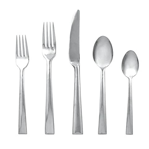 Lenox Continental Dining Stainless-Steel 5-Piece Place Setting, Service for 1 by Lenox