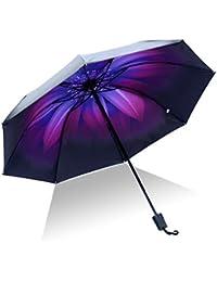 Paraguas Plegable Antiviento, Paraguas de golf a prueba de viento, Paraguas Compacto, Protección