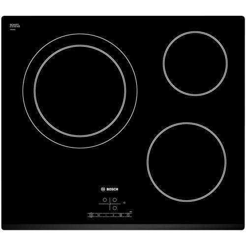 Bosch PKK631B17E plaque Noir Intégré Céramique - Plaques (Noir, Intégré, Céramique, Verre-céramique, 145 W, 120 cm)