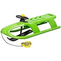 Prosper Plast 2plazas Bullet Control Dirección Trineo, en Color Verde.