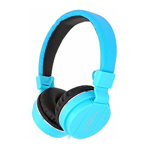 QINPIN Stereo-Headset Kabelgebundene Kopfhörer Integriertes Mikrofon zur Steuerung von Crystal Sound