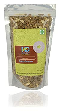 Healthy Calories Roasted Savouries - Protein Mix, 100 grams- ( combo of 3 packs)