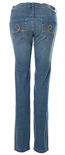 SEVEN7 Damen Jeans Hose Law Rise Skinny LINDSAY Medium Blue